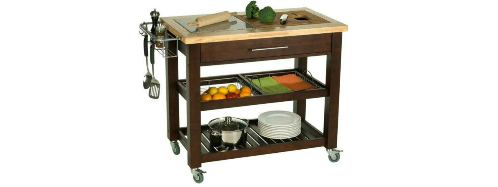 Chris & Chris Chef Series Kitchen Cart