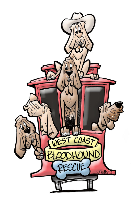 West Coast Bloodhound Rescue Collection