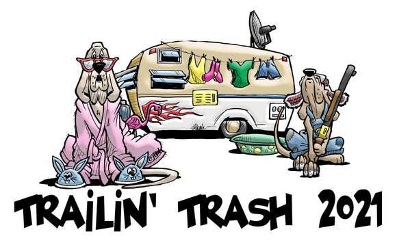 Trailin' Trash 2021 Design