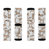 2021 Bloodhound FBC White Sublimation Socks