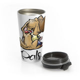 Max and Molly Pals Stainless Steel Travel Mug - The Bloodhound Shop
