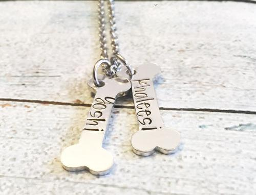All Dogs tag - Hand stamped dog tag - The Bloodhound Shop