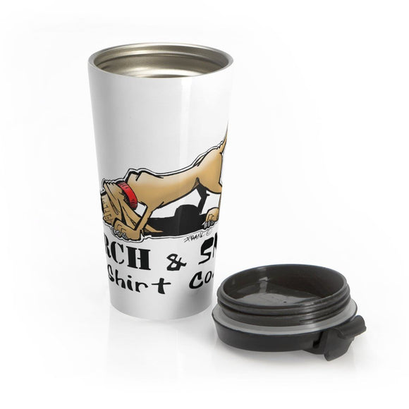 Search and Sniff Hound Stainless Steel Travel Mug - The Bloodhound Shop