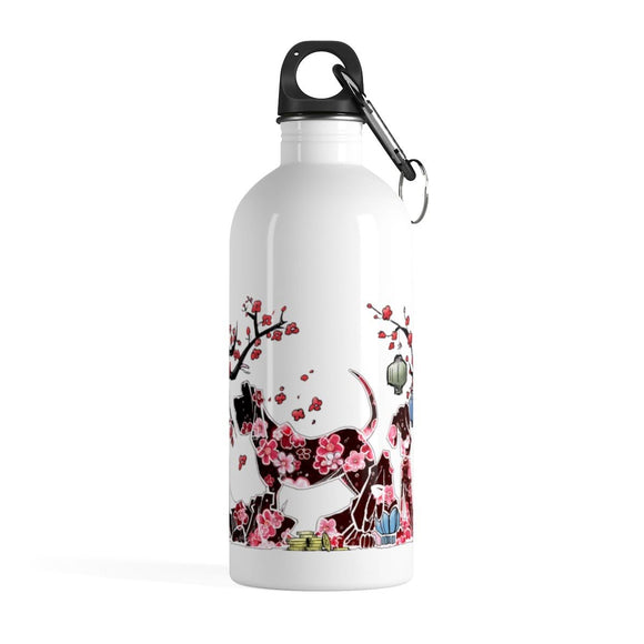 Chinese New Year Stainless Steel Water Bottle - The Bloodhound Shop