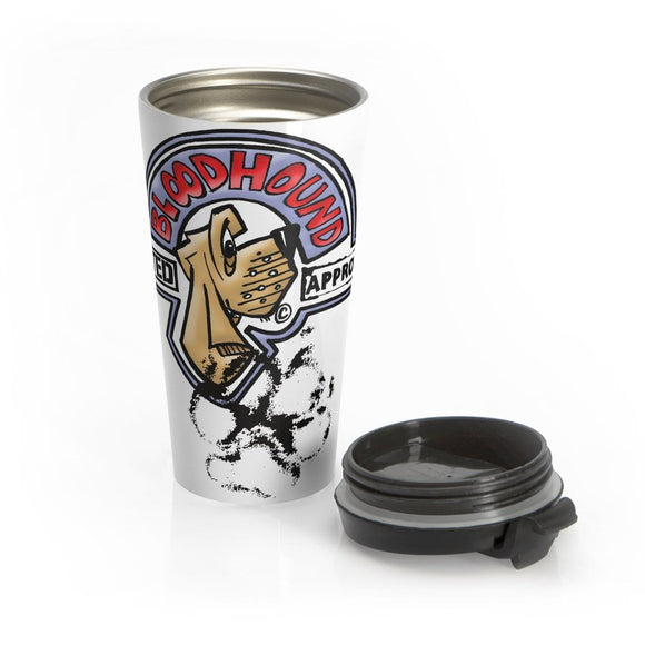 Bloodhound Tested Approved Stainless Steel Travel Mug - The Bloodhound Shop