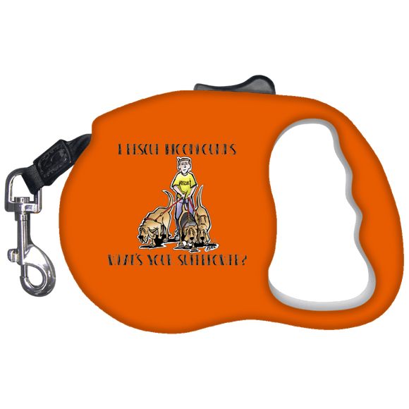 Superpower Howards Hounds Retractable Dog Leash - The Bloodhound Shop