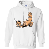 Palmers Playful Pups Gildan Pullover Hoodie 8 oz. - The Bloodhound Shop