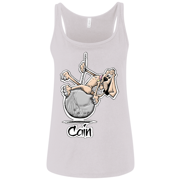 Wrecking Ball Hound Custom Cain Bella + Canvas Ladies' Relaxed Jersey Tank - The Bloodhound Shop
