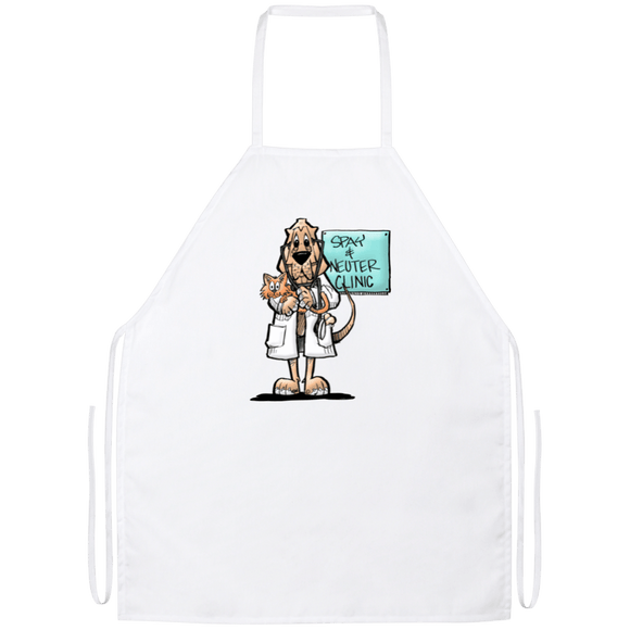 Veterinarian Hound Apron - The Bloodhound Shop
