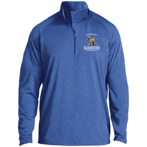 Property of a Bloodhound Specialty Sport-Tek 1/2 Zip Raglan Performance Pullover - The Bloodhound Shop