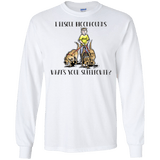 Superpower Howards Hounds Gildan LS Ultra Cotton T-Shirt - The Bloodhound Shop