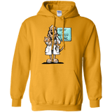 Veterinarian Hound Gildan Pullover Hoodie 8 oz. - The Bloodhound Shop