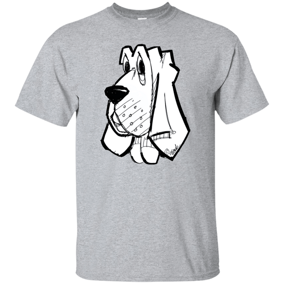 SALE Hound Head Gildan Ultra Cotton T-Shirt