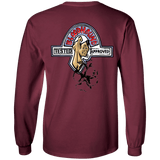 Specialty Bloodhound Shop Gildan LS Ultra Cotton T-Shirt - The Bloodhound Shop