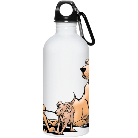 Palmers Playful Pups 20 oz. Stainless Steel Water Bottle