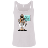 Veterinarian Hound Bella + Canvas Ladies' Relaxed Jersey Tank - The Bloodhound Shop