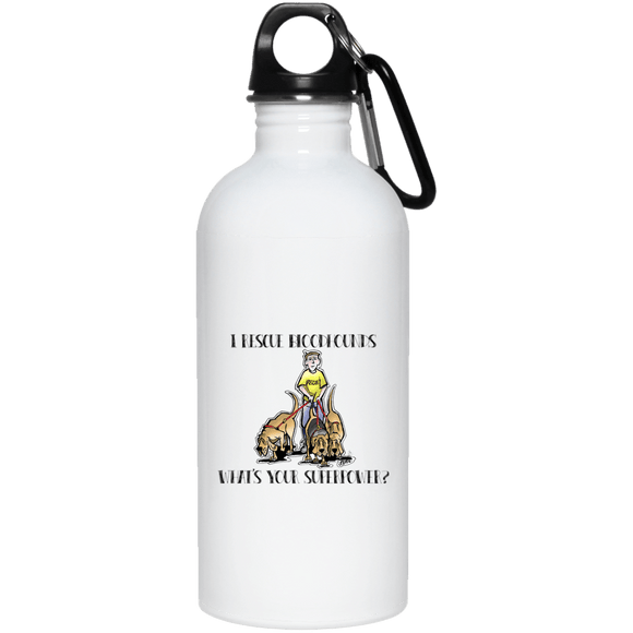 Superpower Howards Hounds 20 oz. Stainless Steel Water Bottle - The Bloodhound Shop