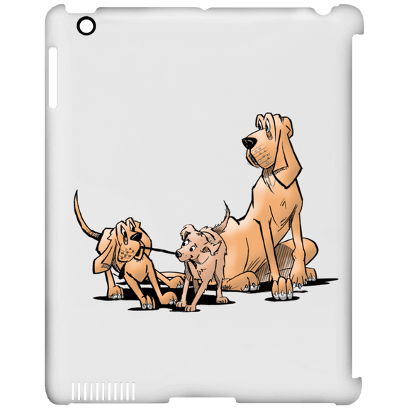Palmers Playful Pups iPad Clip Case - The Bloodhound Shop