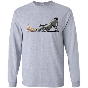 Palmers Horse'n Around Gildan LS Ultra Cotton T-Shirt - The Bloodhound Shop