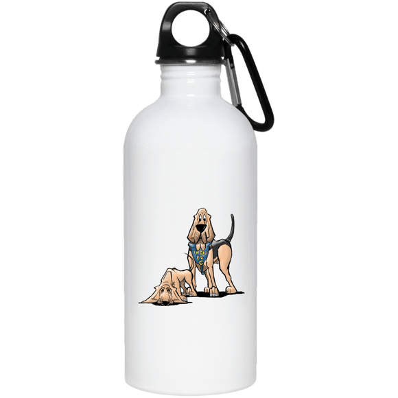 Robyn Indio PD Custom 20 oz. Stainless Steel Water Bottle - The Bloodhound Shop