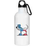 Texas Hound 20 oz. Stainless Steel Water Bottle - The Bloodhound Shop