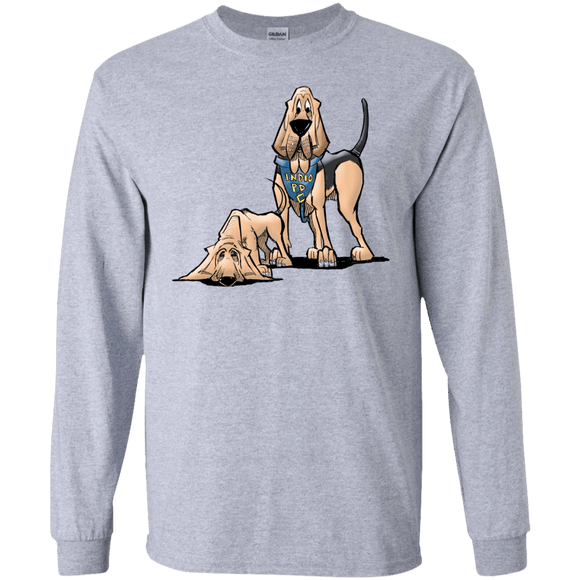 Robyn Indio PD Custom Gildan LS Ultra Cotton T-Shirt - The Bloodhound Shop