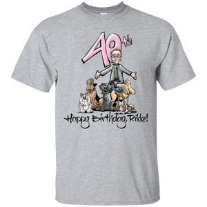 Tim's Rikke Birthday Gildan Ultra Cotton T-Shirt - The Bloodhound Shop