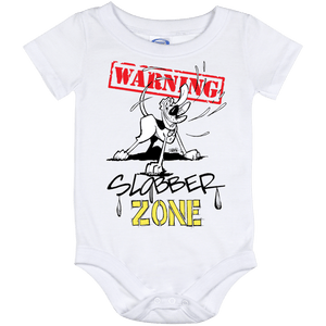 Slobber Zone Baby Onesie 12 Month - The Bloodhound Shop