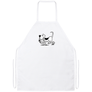 Retro Hound Apron - The Bloodhound Shop