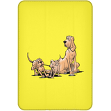 Palmers Playful Pups iPad Mini Flip Case - The Bloodhound Shop