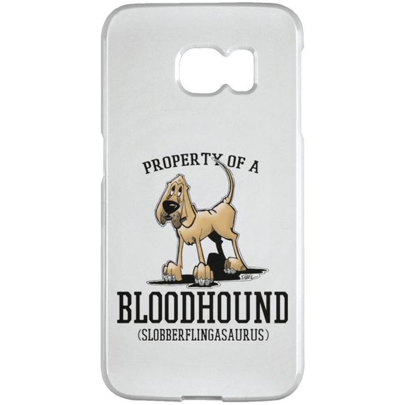 Property of a Bloodhound Samsung Galaxy S6 Edge Case - The Bloodhound Shop