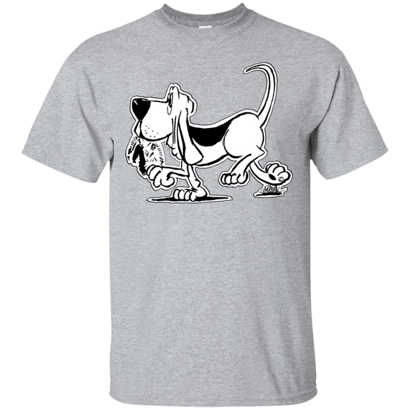 Retro Hound Gildan Ultra Cotton T-Shirt - The Bloodhound Shop