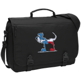 Texas Hound Port Authority Messenger Briefcase | The Bloodhound Shop
