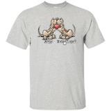 Tim's Droopy Rupert & Authur Gildan Ultra Cotton T-Shirt - The Bloodhound Shop