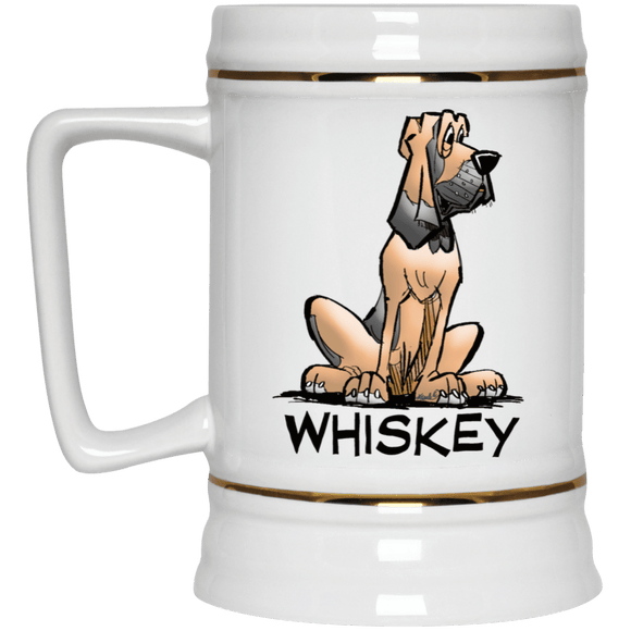 Whiskey Collection Beer Stein 22oz. - The Bloodhound Shop