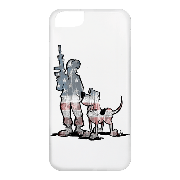 Soldier Hound iPhone 6 Case - The Bloodhound Shop