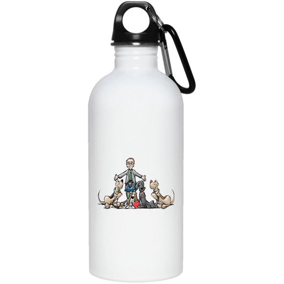 Tim's Hound Love 20 oz. Stainless Steel Water Bottle
