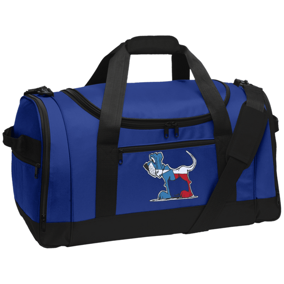 Texas Hound Port Authority Travel Sports Duffel - The Bloodhound Shop