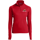 Search and Sniff Specialty Sport-Tek Women's 1/2 Zip Performance Pullover - The Bloodhound Shop