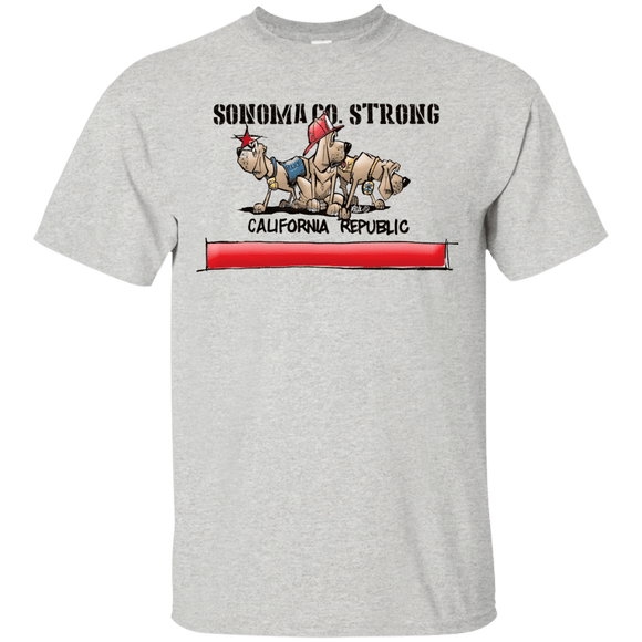 Sonoma Co. Strong Gildan Ultra Cotton T-Shirt - The Bloodhound Shop