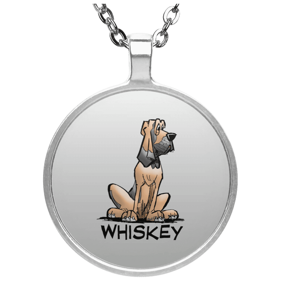 Whiskey Collection Circle Necklace