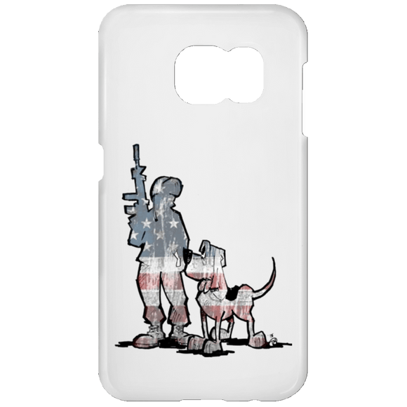 Soldier Hound Samsung Galaxy S7 Phone Case - The Bloodhound Shop