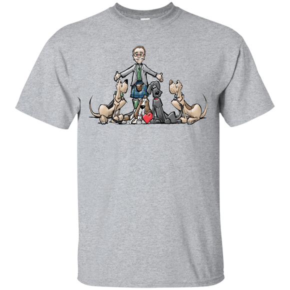 Tim's Hound Love Gildan Ultra Cotton T-Shirt - The Bloodhound Shop