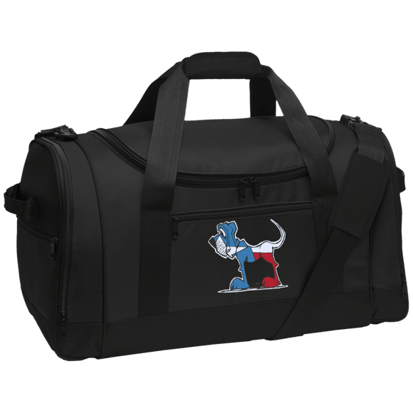 Texas Hound Port Authority Travel Sports Duffel
