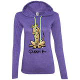 Sibylle Collection Anvil Ladies' LS T-Shirt Hoodie - The Bloodhound Shop
