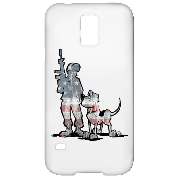 Soldier Hound Samsung Galaxy S5 Case - The Bloodhound Shop