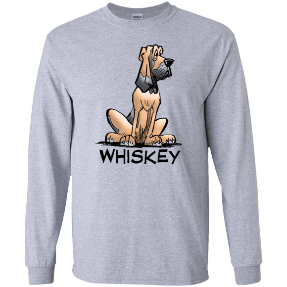 Whiskey Collection Gildan LS Ultra Cotton T-Shirt - The Bloodhound Shop