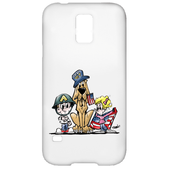 Veteran Hound Samsung Galaxy S5 Case - The Bloodhound Shop