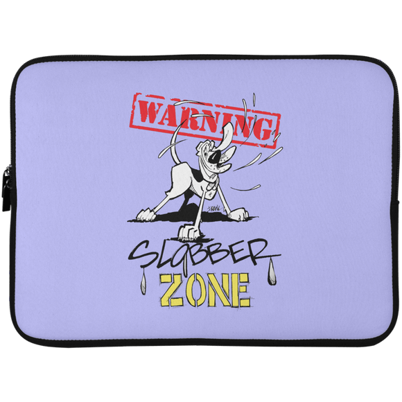 Slobber Zone Hound Laptop Sleeve - 15 Inch - The Bloodhound Shop