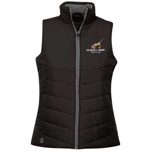 Search and Sniff Specialty Holloway Ladies' Quilted Vest - The Bloodhound Shop